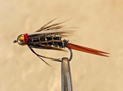144  Preselected Colorado Trout Fly Assortment /& Fly Box U Pick Flies
