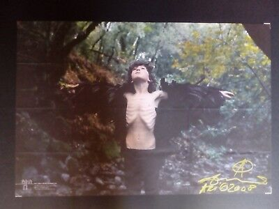 Ari Marcopoulos signed and dated poster 2008 art photo print no Larry Clark