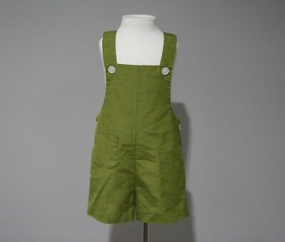 Vitage Health Tex Stantogs Childs Size 2T Shorts Romper Olive Green