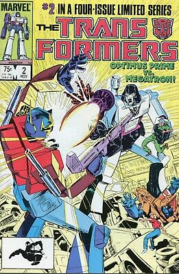 Transformers #2 First Print FNVF 1984 Marvel Comic Book