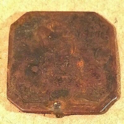 Ancient Religious Jewelry Bronze Christian Artifact Medieval Metal Detector Find