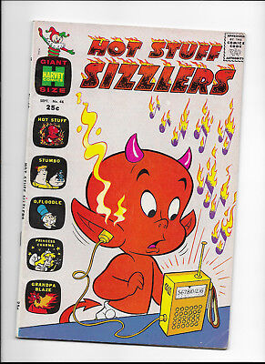 Hot Stuff Sizzlers #46 Giant-Size {Sep 1971 Harvey} Early Bronze Age! F+ Sweet!