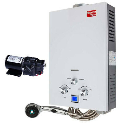 Gas Hot Water Heater Portable Shower Camping LPG Instant 4WD Outdoor