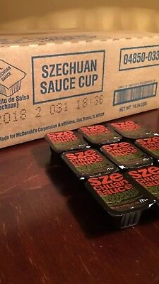 McDonald's Szechuan Sauce 250 count Case  *LIMITED RELEASE* Rick and Morty