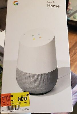 New Google Home Hands-Free Personal Assistant White/Slate fabric