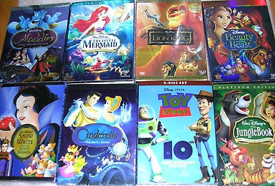 Disney Pixar DVD Movies  - Choose Your  Titles Save on Shipping with Multiple