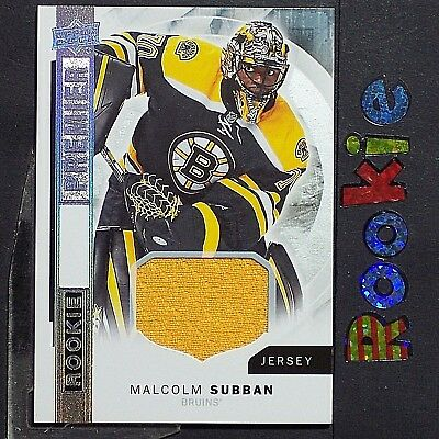 MALCOLM SUBBAN  2015-16 UD  Premier  ROOKIE Jersey #R-20  Vegas Golden Knights