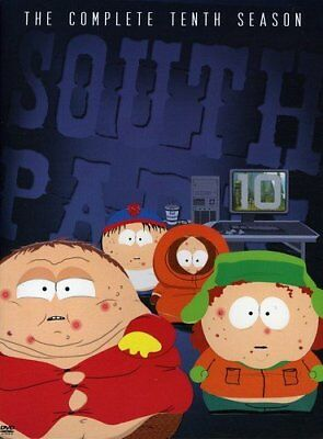 💿 South Park The Complete Tenth Season (10) DVD Animation Comedy TV Shows Serie