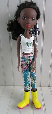 "Prettie Girls Tween Scene 15"" Doll Black African American By Tonner Toys 2015"