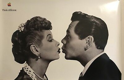 I Love Lucy Think Different Poster