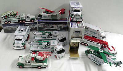 Hess Trucks - Some Obx -  Lot Of 11 - Used
