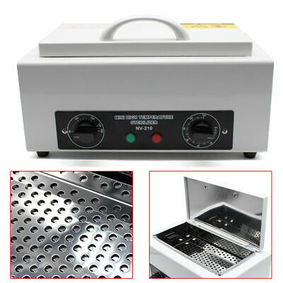 Portable Dry Heat Sterilizer Autoclave Dental Nail Tools Utensils Beauty Salon