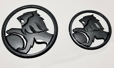 Lion badge 130mm and 95mm Combo Carbon Fibre Edition for Holden SS SSV VE VF SV6
