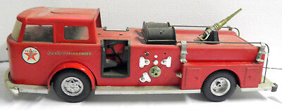 Buddy-L Texaco Fire Truck - Parts Or Restoration - Used