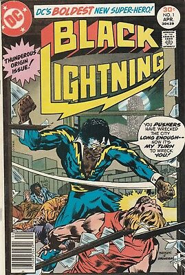 Black Lightning #1 (Apr 1977) HIGH GRADE ! Buckler Art ! SINGLE OWNER ! KEY!