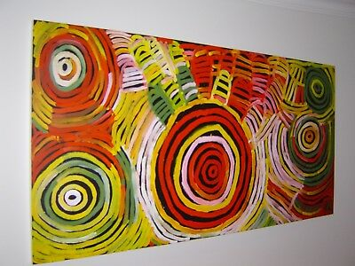 Calling All Serious Collectors. Massive Minnie Pwerle! 244 X 122Cms!!!!!!!