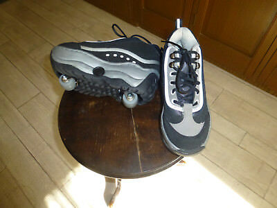 Wheeler Walkers 2 in 1 Pop Out Roller Skate Shoes size 38- camden