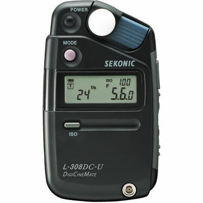 Sekonic L-308DC DigiCineMate - Video Light Flash Meter Exposure Photo