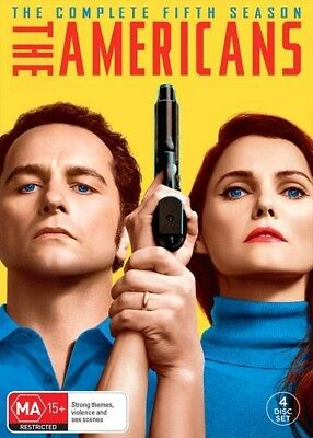 The Americans - Season 5 DVD [New/Sealed] UK Compatible OFFICIAL RELEASE