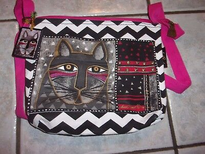 Laurel Burch - Whiskered Cat - Cross body Bag