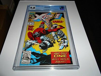 X-Force #15 Cgc 9.8 (Cable And Deapool)  (Combined Shipping Ok)