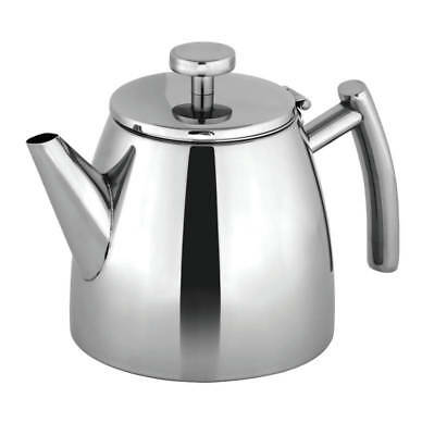 NEW Avanti Modena Double Wall insulated S/Steel 600ml Teapot