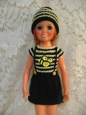 "Ideal Crissy/Chrissy  Bumblebee outfit for 18"" Dolls"