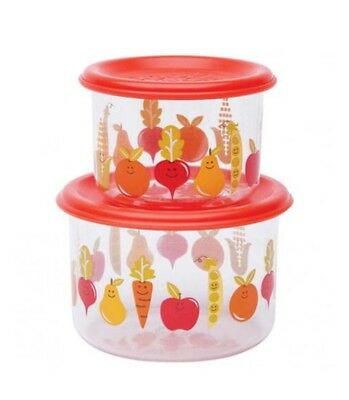 Sugarbooger Good Lunch Small Snack Container, My Garden, 2 Count New