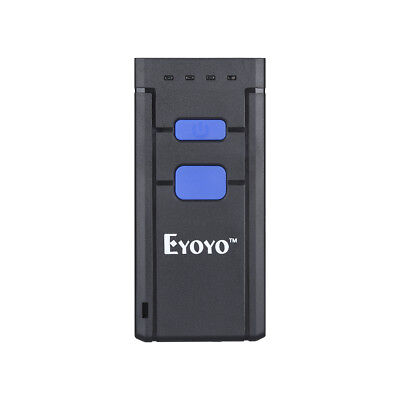 Eyoyo Bluetooth Laser USB Barcode Scanner Code Reader LED Fr Win,i OS,Android OS