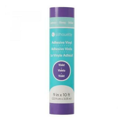 NEW Silhouette - Glossy Permanent Vinyl - 9In.X 10Ft. - Violet