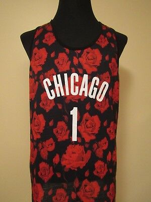 Chicago Rose #1 2XL** Printed Tank by K1X 93 Park Authority