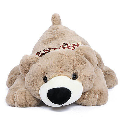 "JOYFAY® 18"" Soft Lying Teddy Bear Plush Stuffed Animal Toy Valentine Gift"