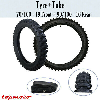 Motorcycle 16''/19'' Front &Rear Tyre/Tire +Inner Rubber Tube 125cc Dirt Bike