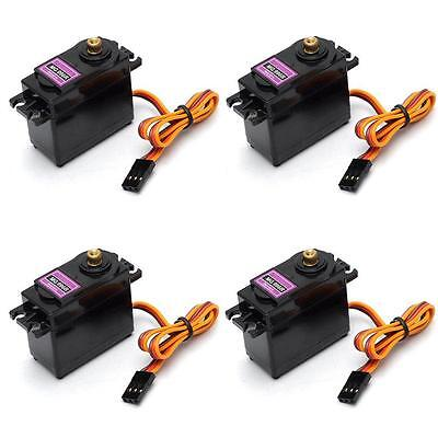 4X Servo Digital Metall Gear 15kg/6V 55g MG996R Upgrade MG995 MG945 MG996