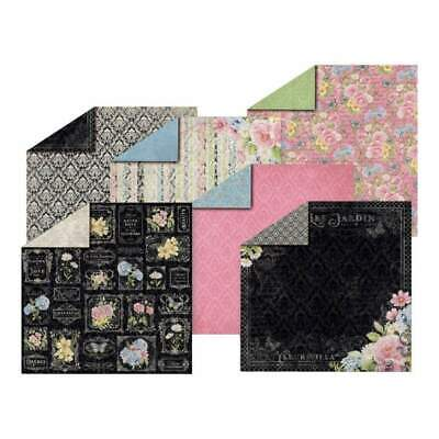 Hot Off The Press Double-Sided Paper Pack 12 inch X12 inch 12 pack - Romantique