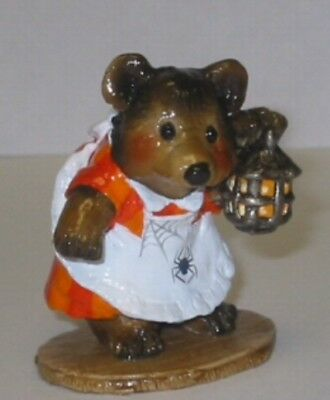 Wee Forest Folk Special Halloween Witch Bear  Sold Out
