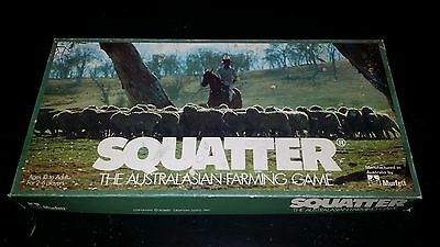 Vintage Copyright 1961 SQUATTER The Australian Wool Game 100% Complete