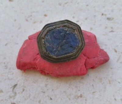 ROMAN LEGION GENERAL ANTIQUES BRONZE RING!! 50BC 10th LEGION, INTAGLIO, SIGNET!!