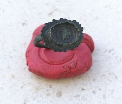 Roman Legion Empire General Antique Bronze Ring 100Ad
