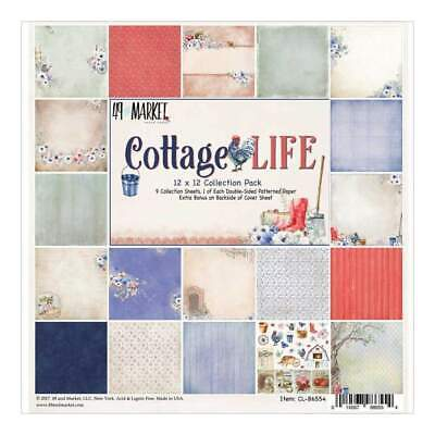 49 & Market Collection Pack 12 inch X12 inch Cottage Life, 1ea Of 9 Designs +...