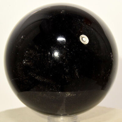 58mm Gold Sheen Obsidian Sphere Natural Crystal Ball Polished Mineral - Mexico