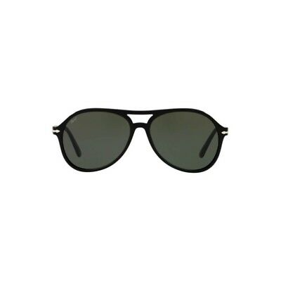 ef53631e90 New Authentic Persol Sunglasses PO3194S 104131 Black Green Crystal 59mm  Lens NIB