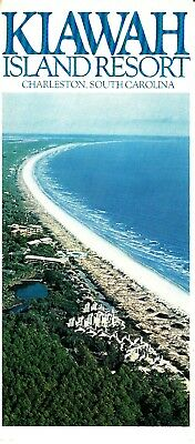 Kiawah Island Resort Charleston South Carolina SC Vintage Brochure