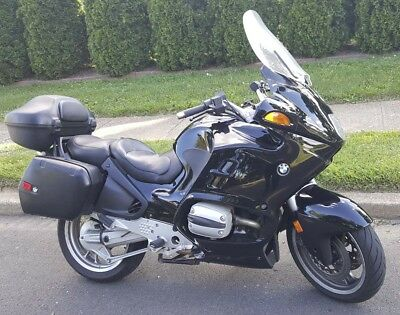 2000 BMW R-Series  BMW R1100RT Touring Motorcycle Black Like New R 1100 RT Police