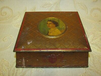Vintage Mc Vitie & Price Ltd. Coronation Souvenir June 1953 Tin
