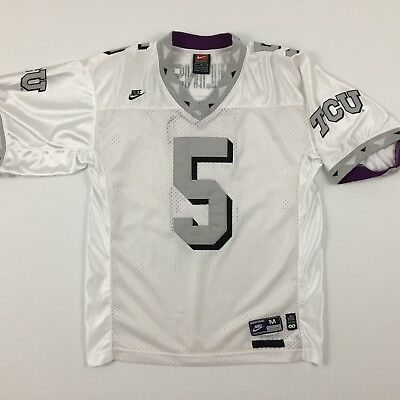 new products f2d87 2fa53 NIKE TCU Horned Frogs LaDainian Tomlinson College Football Jersey Youth M