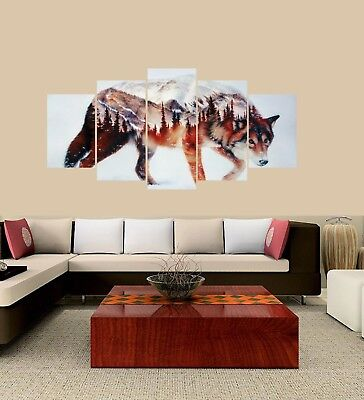 5 Panel Canvas Wall Decor Painting for Home Living Room Pics & Office Decor Pics