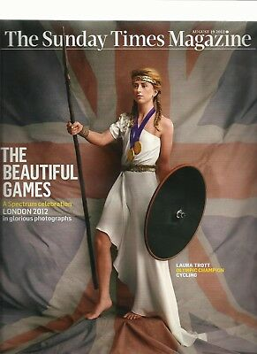 The London 2012 Olympic Games Photo Special  Sunday Times Magazine 19.8.2012