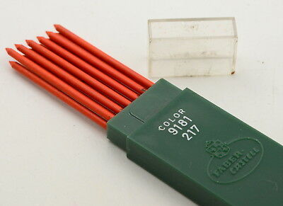 Faber Castell Minen Color 9181 217 Farbminen Rot 2 mm pencil leads red orange