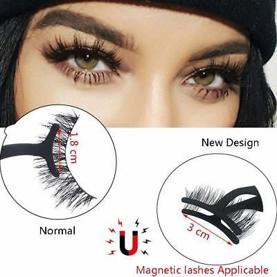 Extension Tool Eyelashes Tweezers Wider Clip Magnetic Lashes Applicator